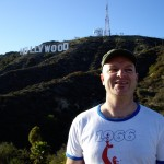 Hiking up the Hollywood hills