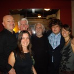 Tim,Nick Lowe,Bob Segarinin,Ron Sexsmith and the Madison Violet ladies