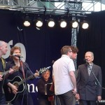 Tim on mandolin with Terence Gowan,Stephen Page,Ron Sexsmith and Leonard Cohen