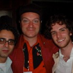 Peter Fusco,Tim and Guy Berryman (Coldplay) NYC 2003