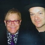 The great Elton John with Tim in Toronto