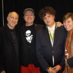 Peter Townshend,Tim,Ron Sexsmith and Martha Wainright in Austin,Texas